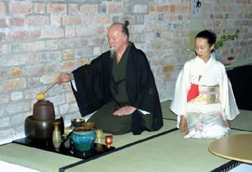 japansk te ceremoni